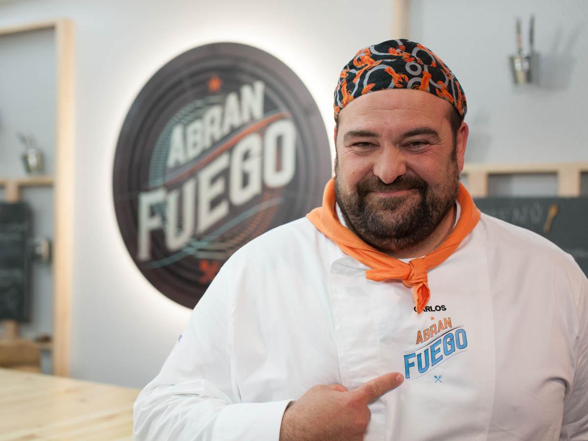 Carlos Granado - Abran Fuego Foto propiedad de Telemadrid
