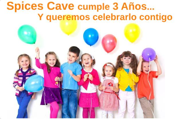 3 Cumpleaños Spices Cave