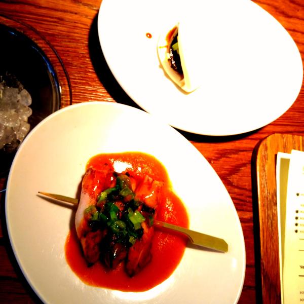 Platos del Restaurante Yakitoro de Chicote