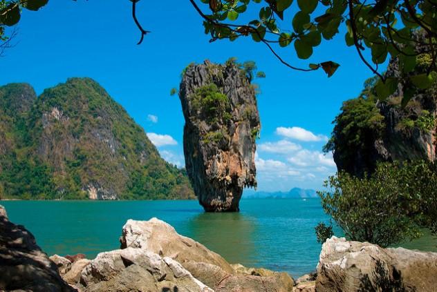 James Bond Felsen - Tailandia