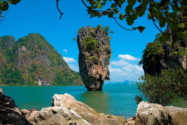 James Bond Felsen - Tailandia