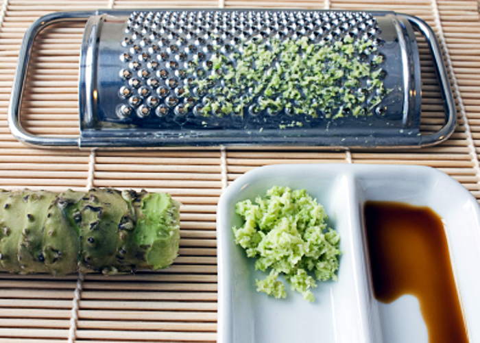 raiz de wasabi