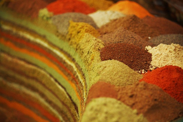 especias colores