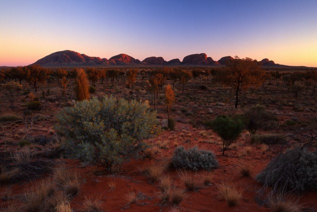 Kata Tjuta Sunrise Photo by Mark Wassell