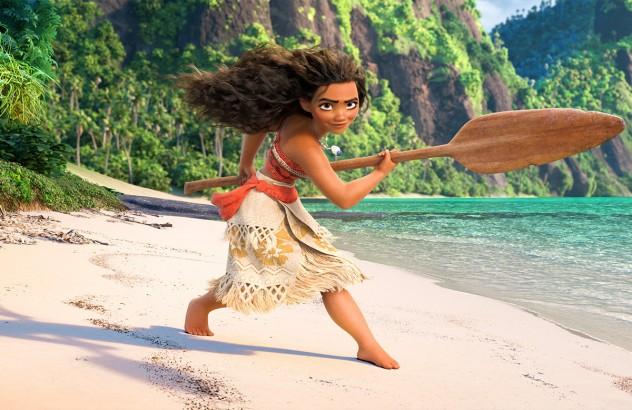 Vaiana (Moana) Foto propiedad de Disney