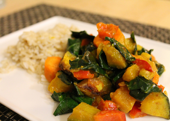 verduras al panch phoron