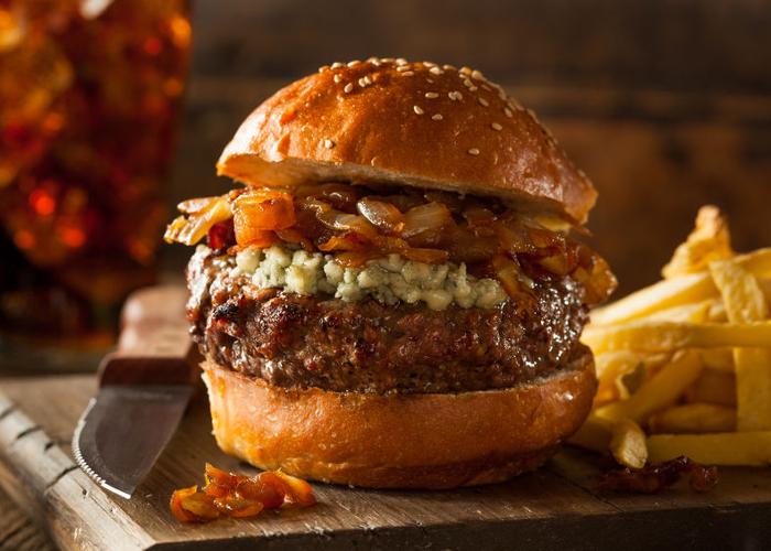 hamburguesa hemingway
