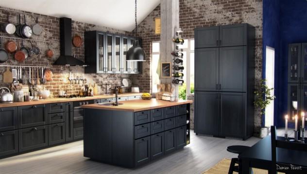Poner una cocina nueva buscando la cocina ideal comprar - Cucina nera ikea ...