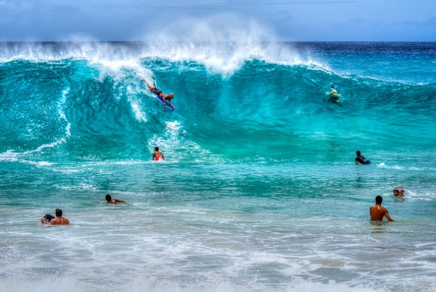 Sandy beach - Oahu